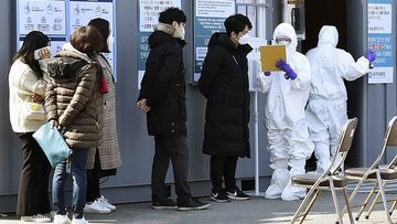 Dünyada yeni tip koronavirüs bulaşan kişi sayısı 76 bin 7...