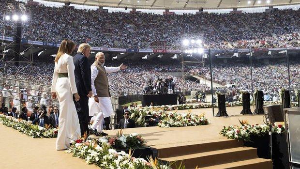 Trump: Hindistan ile 'mükemmel' bir ticaret anlaşması imzalayacağımıza inanıyorum