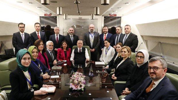 Erdoğan: Emekli ikramiyelerinin kaldırılması gibi bir şey yok