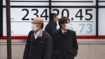 Asya borsaları koronavirüs vakalarındaki artış ile geriledi