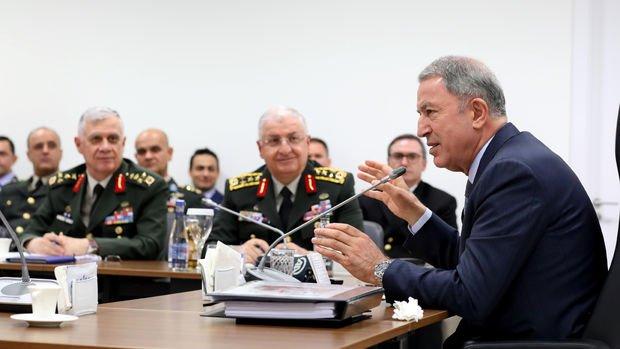 Akar: Rus askeri heyetiyle büyük oranda mutabakata vardık