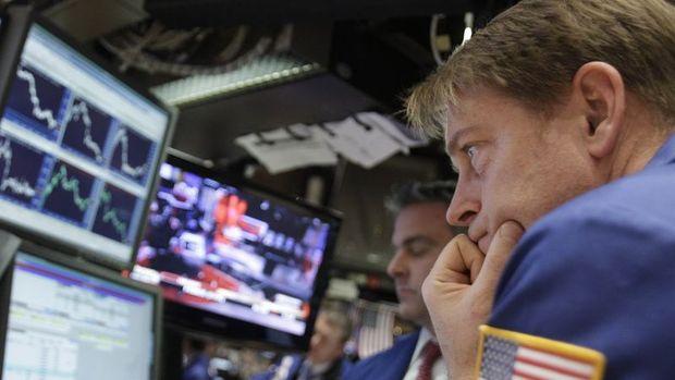 ABD hisseleri sert düştü, işlemler durduruldu
