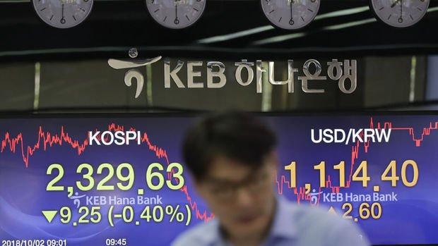 Asya'da won düşerken rupi yükseldi