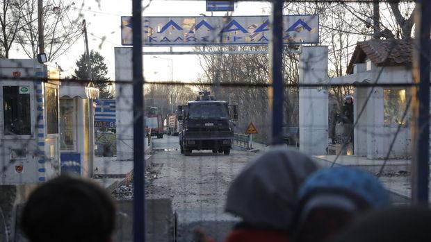 Yunanistan ve Bulgaristan sınır kapıları kapatıldı
