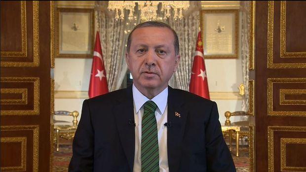 Erdoğan: Devletimiz tüm kurumlarıyla görevinin başında