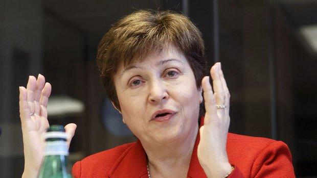 IMF/Georgieva: Küresel ekonominin 2020'de daralacağını, 2021'de toparlanacağını öngörüyoruz