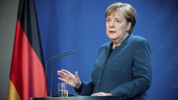 Merkel: Kovid-19, 2008 banka ve finans krizinden daha kötü