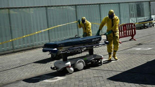 İspanya'da Kovid-19 salgınından hayatını kaybedenlerin sayısı düne göre 769 kişi arttı