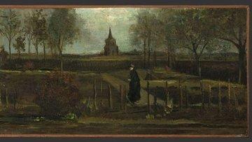"""Hollanda'da Van Gogh'a ait """"İlkbahar Bahçesi"""" tablosu çal..."""