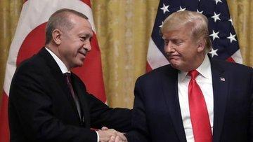 Cumhurbaşkanı Erdoğan ile ABD Başkanı Trump telefonda gör...