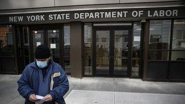 ABD'de işsizlik maaşı başvuruları 6.6 milyonla rekor kırdı
