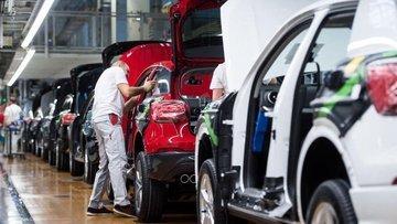 Alman otomotiv sektörü ihracat beklentisi son 11 yılın en...