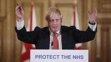 Koronavirüs tedavisi gören İngiltere Başbakanı Johnson yo...