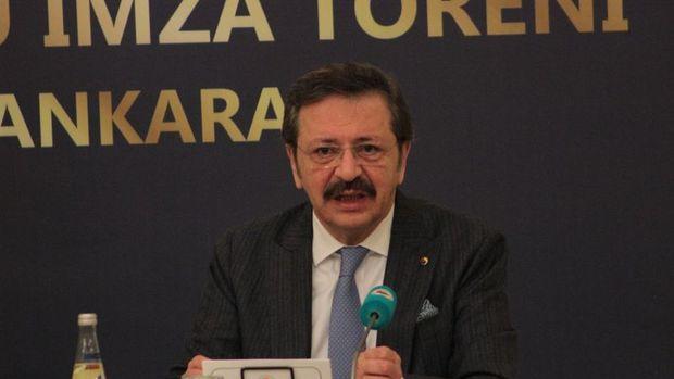 Kamu bankalarından TOBB Başkanı Hisarcıklıoğlu'na tepki