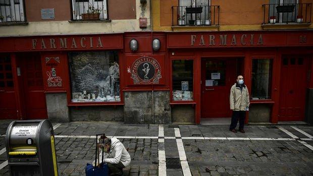 İspanya'da Kovid-19 nedeniyle ölenlerin sayısı bugün düştü