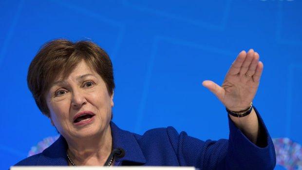 IMF Başkanı Georgieva'dan bankalara: Temettü ve geri alımları durdurun