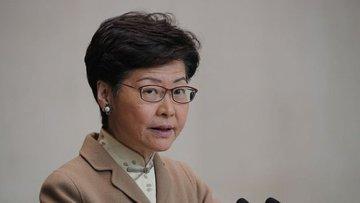 Lam: Hong Kong hükümeti Çin ile tam iş birliği yapacak