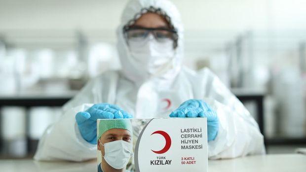 Türk Kızılay maske üretimine yıllar sonra yeniden başladı
