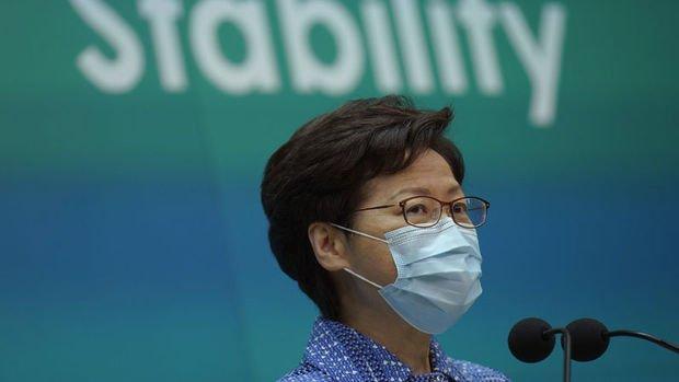 Hong Kong'un lideri Çin'in