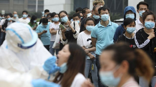 Çin'in Vuhan kentinde 6,5 milyondan fazla kişiye test yapıldı