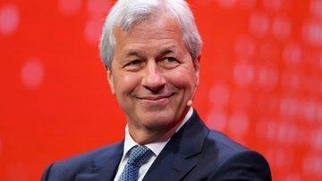 JPMorgan CEO'su Dimon hızlı bir ekonomik toparlanma konus...