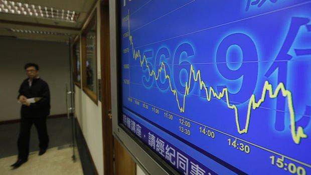 Küresel Piyasalar: Hisseler karışık seyretti, Hong Kong borsası sert düştü