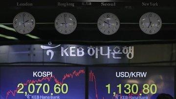 Asya paraları ABD-Çin gerilimiyle düştü