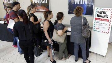 ABD işsizlik maaşı başvuruları 2.1 milyona düştü