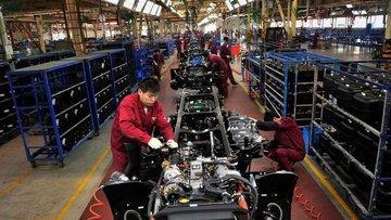 Çin'in imalat PMI'ı yavaş toparlanma etkisi ile geriledi