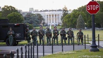 ABD'deki gösteriler nedeniyle Washington'da sokağa çıkma ...