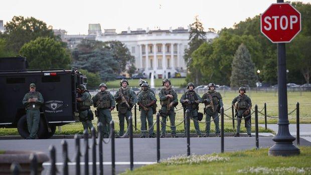ABD'deki gösteriler nedeniyle Washington'da sokağa çıkma yasağı ilan edildi