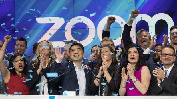 Zoom'un piyasa değeri 50 milyar doların üzerine çıkarak rekor kırdı