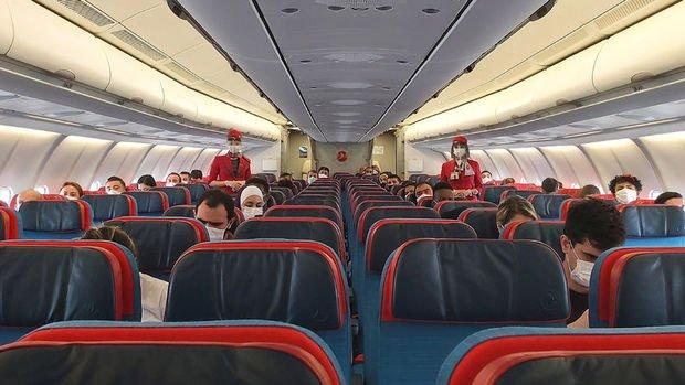 Uçak yolculuğunda