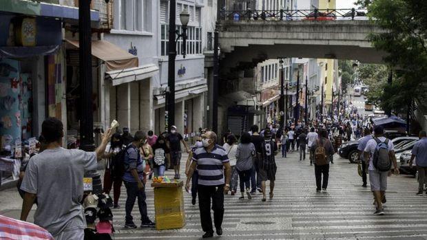 Brezilya'da Kovid-19 nedeniyle ölenlerin sayısı 41 bine yaklaştı