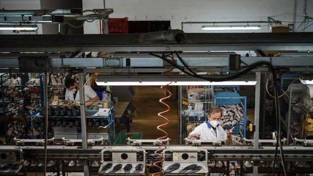 Euro Bölgesi sanayi üretiminde rekor düşüş