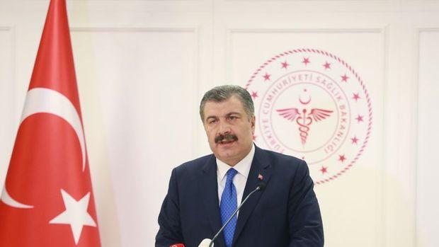 Koca: Son 24 saatte 1195 kişiye Kovid-19 tanısı konuldu