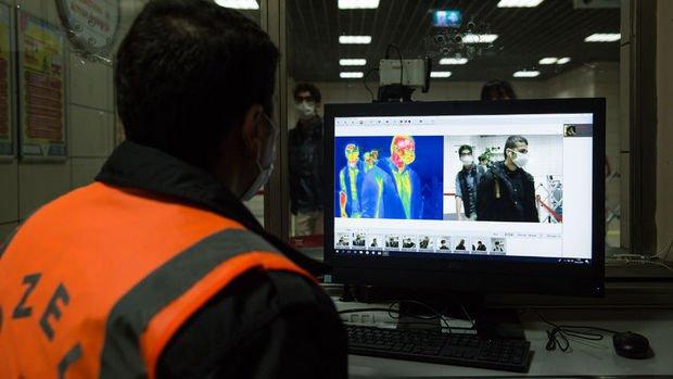 Ateş ölçer dedektörle Avrupa'ya ihracat