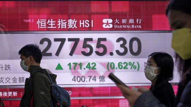 Asya borsaları 'artan vaka endişeleri ile' geriledi