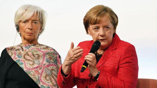 Merkel ve Lagarde'dan AB liderlerine
