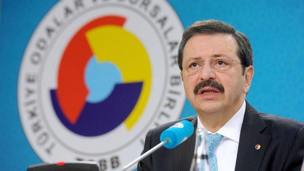 TOBB Başkanı Rifat Hisarcıklıoğlu, Türkiye-ABD ticari ilişkilerini değerlendirdi