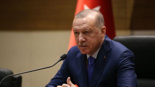 Erdoğan: Ekonomide çok büyük bir ivme bekliyoruz