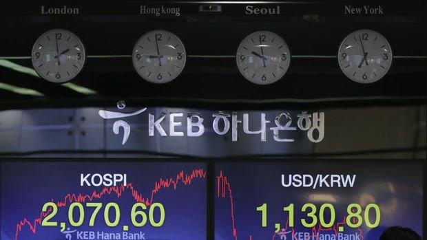 Asya paraları virüs endişeleriyle won öncülüğünde düştü