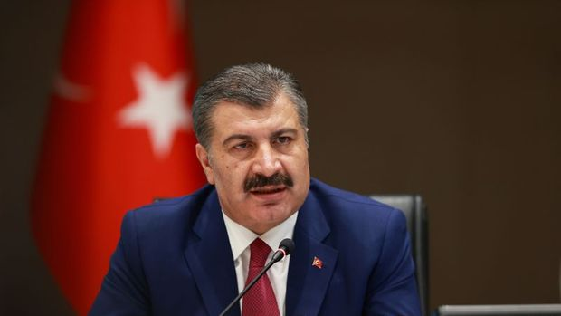 Türkiye'de son 24 saatte 1396 kişiye Kovid-19 tanısı konuldu