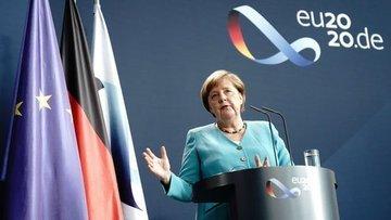 Merkel: Avrupa'nın tarihinin en zor durumunda olduğunu bi...