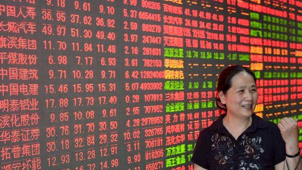 """""""Çin borsasının yükselişini kısa pozisyonların kapatılması şiddetlendiriyor"""""""