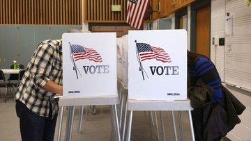 ABD'nin New Jersey ve Delaware eyaletlerindeki ön seçimle...