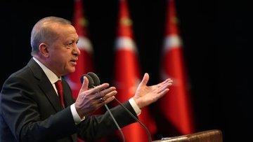 Cumhurbaşkanı Erdoğan Ayasofya'nın resmen ibadete açıldığ...