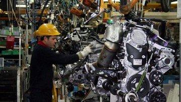 Sanayi üretimi Mayıs'ta % 17.4 sıçradı
