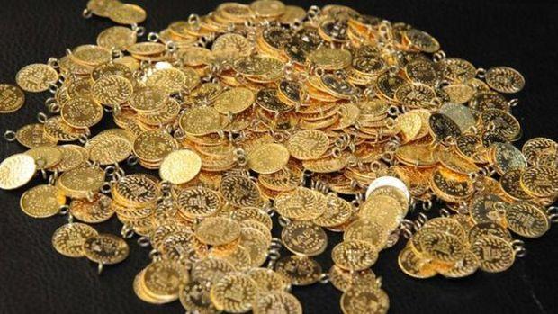 Gram altın 398 lira seviyelerinde yatay seyrini sürdürüyor