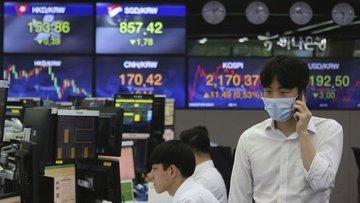 Asya'da para birimleri artan virüs vakalarıyla düştü